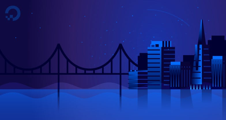 SF skyline illustration