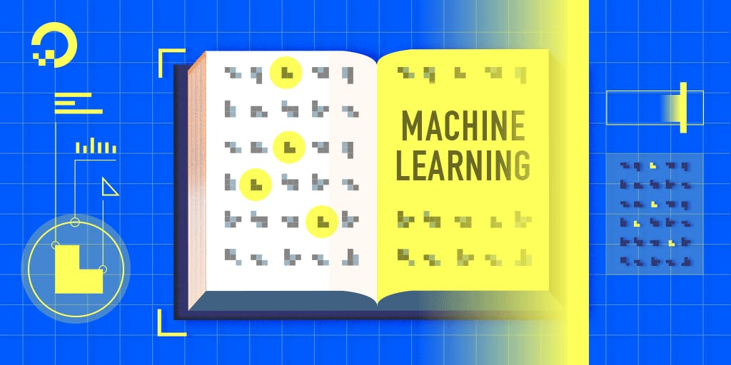 Machine Learning book illustration