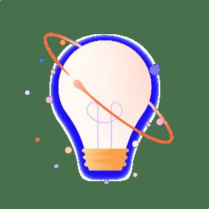spot complex light bulb