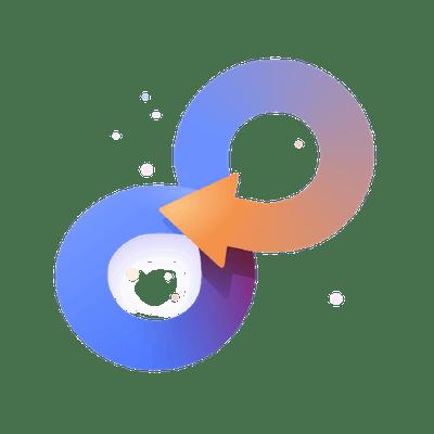 DevOps infinity icon CI/CD process