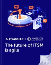 The Future of ITSM is agile book cover