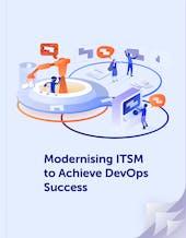 Modernising ITSM to achieve DevOps success cover