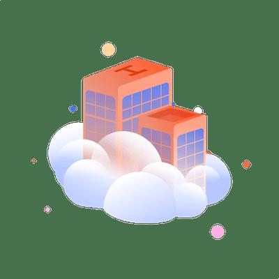 Cloud building
