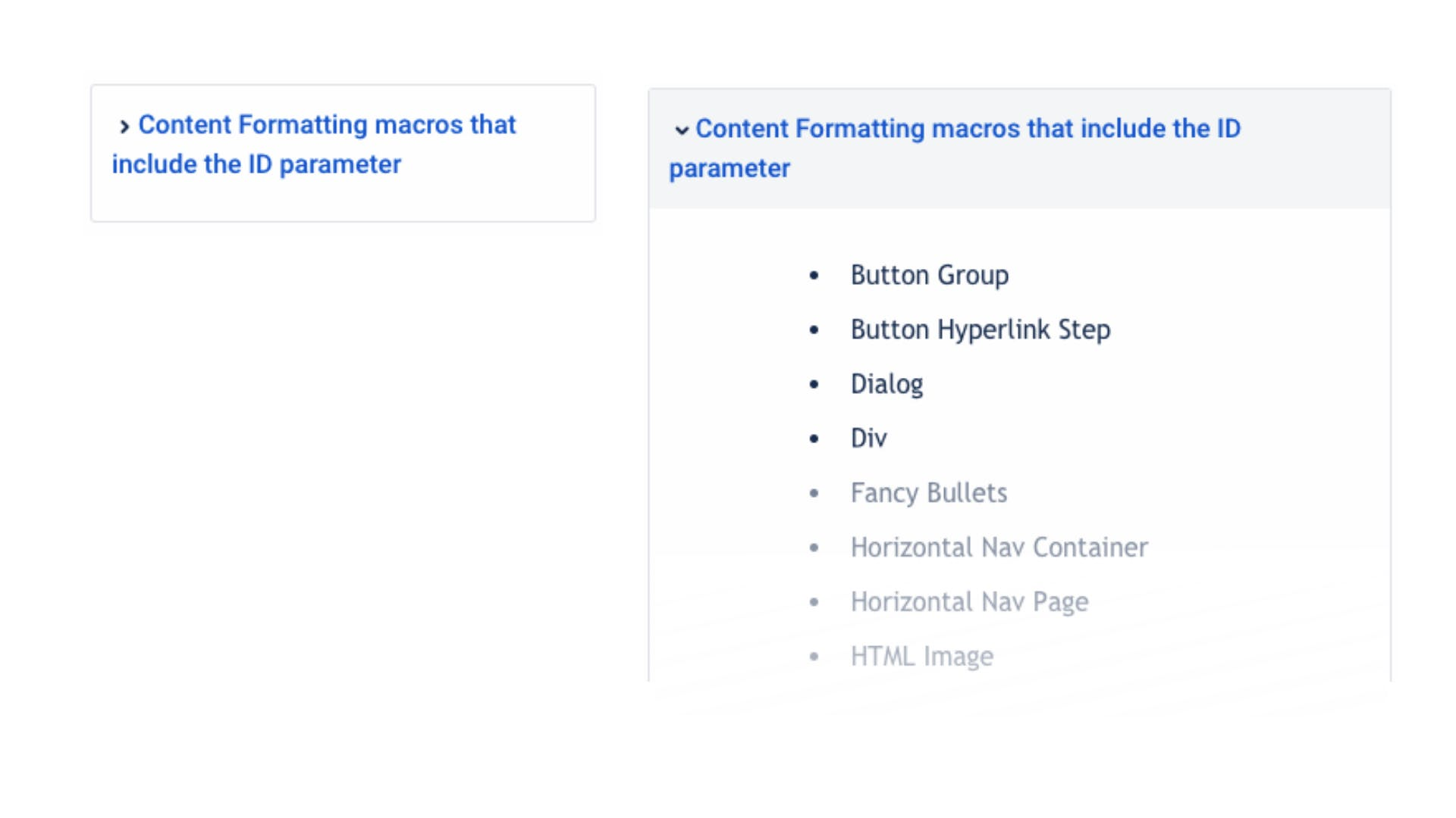Expand macro in Confluence