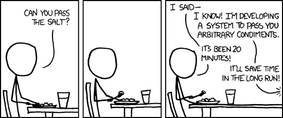 Image source: XKCD, The General Problem, https://xkcd.com/974/
