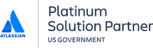 Atlassian Platinum Solution Partner for the US Government Accreditation Logo