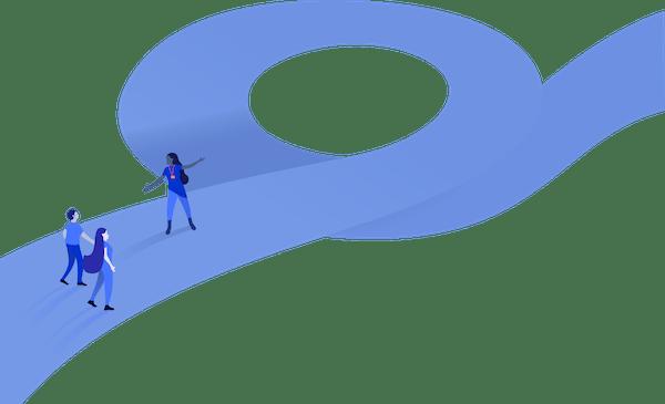 Walking down an agile path