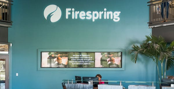 Firespring's HQ in Lincoln, Nebraska