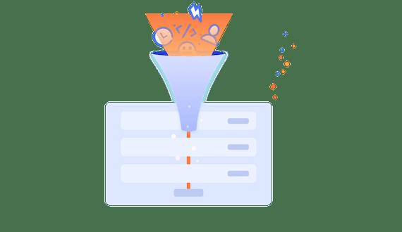 Workflow Steps for Jira Slack funnel illustration