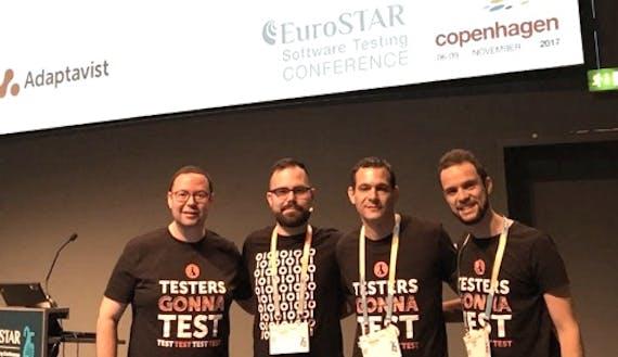 Talking testing and test management at EuroSTAR 2017, Copenhagen