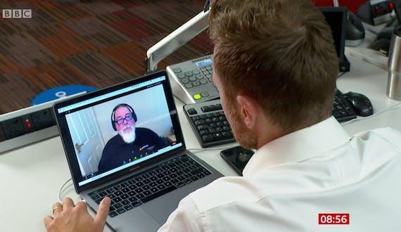 In the news: BBC Breakfast Segment on Remote Working