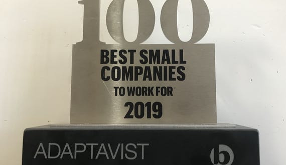 Adaptavist named a Times Top 100 company for the second year