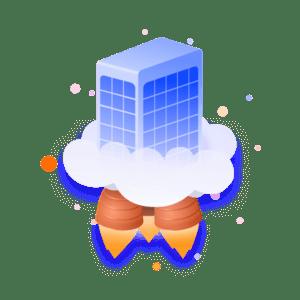 Server on top of cloud