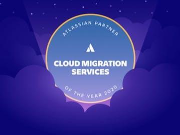 Cloud migration badge