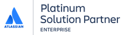Atlassian Platinum Solution Partner for Enterprise logo