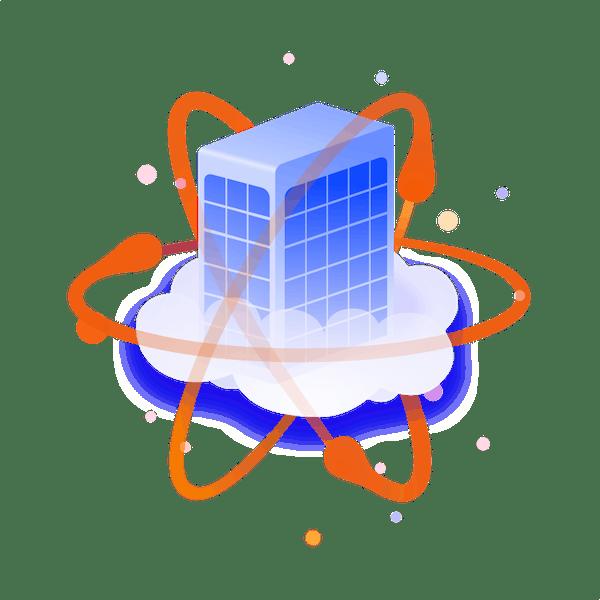 Cloud atom