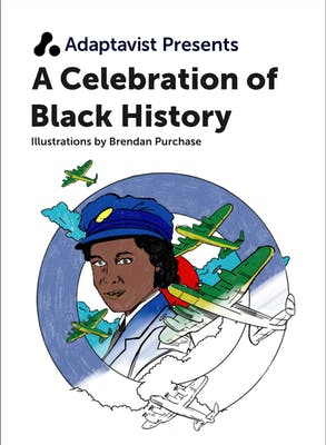 Black History Month Colouring Book