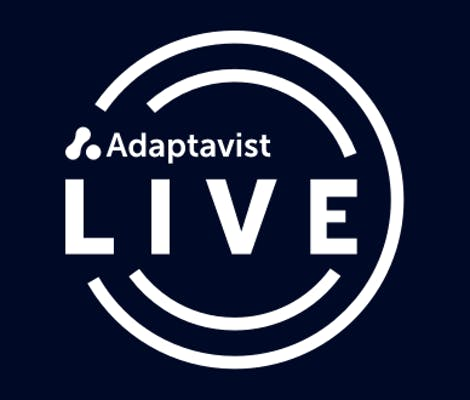 The Adaptavist Live Podcast Logo