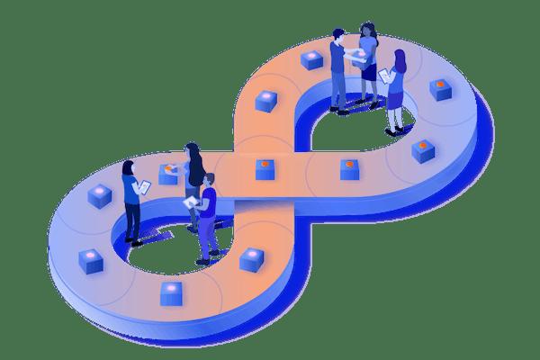 DevOps conveyor belt
