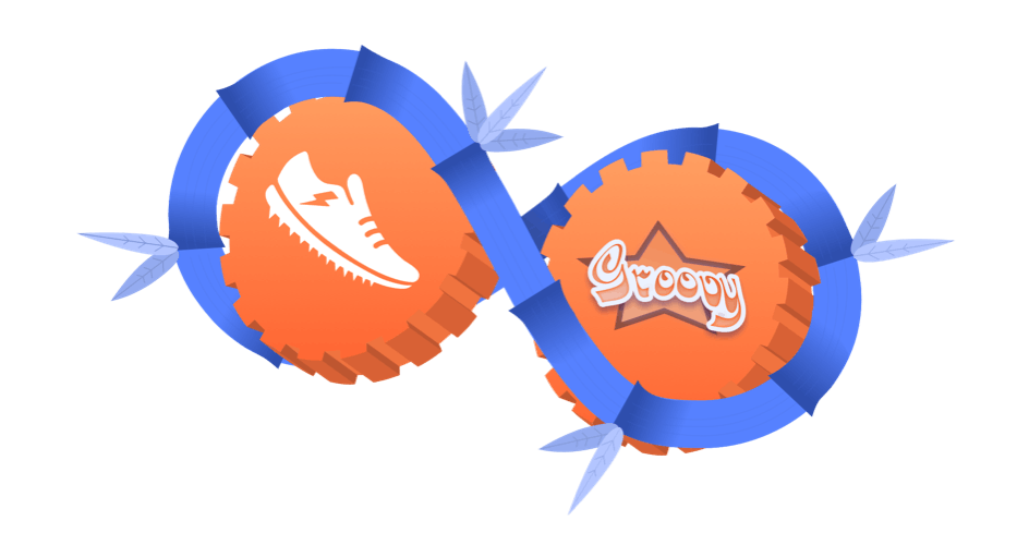Scriptrunner and Groovy logos in cogs