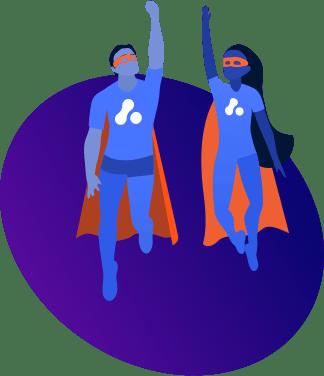 Assist superheroes