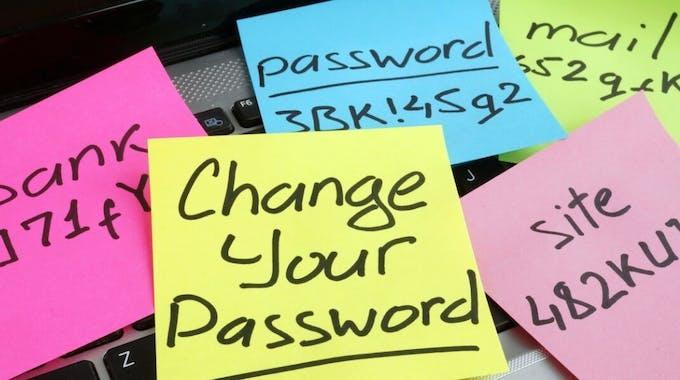 Ändere dein Passwort-Tag
