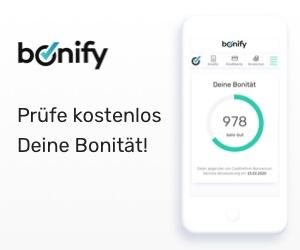Pruefe kostenlos Deine Bonitaet mit bonify