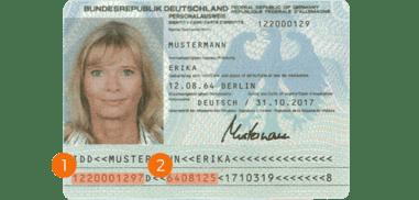 alten Personalausweis