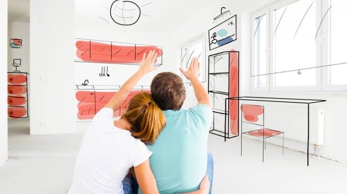 3000 Euro Kredit hilft jungem Paar in leerer Wohnung