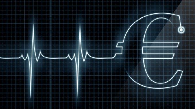 Puls-Messgerät mit,-EUR Kontokorrentkredit im Notfall