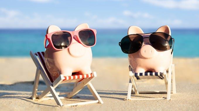 8 Millionen Deutsche überziehen Konto für Sommerurlaub