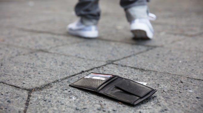 Kreditkarte verloren