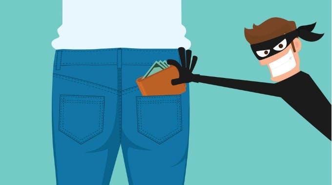 Portemonnaie gestohlen