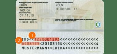 neuen Ausweis