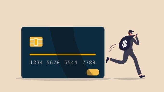Kreditkartenbetrug Schutz