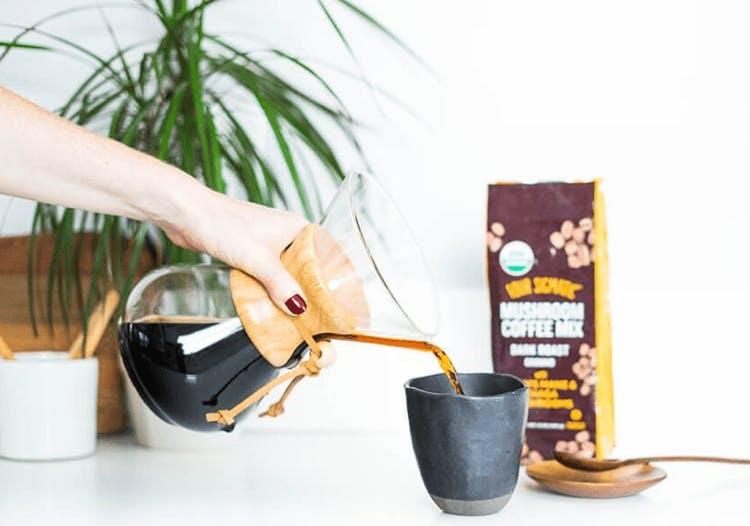 Advertised coffee image