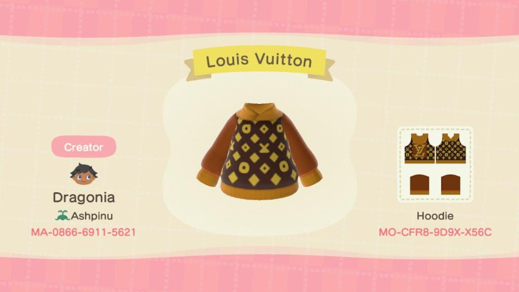 Animal crossing, Louis Vuitton