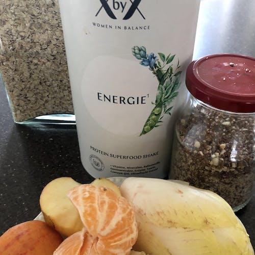 Detox Porridge mit Chicoree-Mandarine Topping Rezept