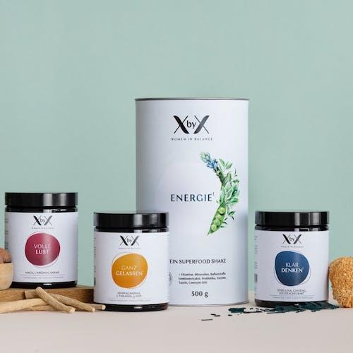 Balance Startset set XbyX Produkte Wechseljahre