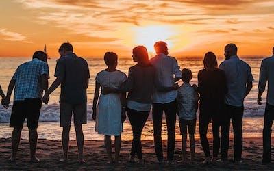 Familien Gesundheits-Baum-prävention-gesundheit