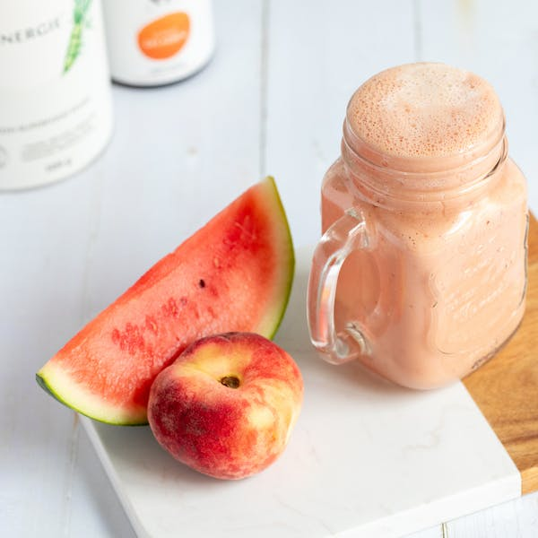 melone-pfirsich-smoothie-protein-spitzkohl-xbyx-energie-ganz-gelassen-wechseljahre