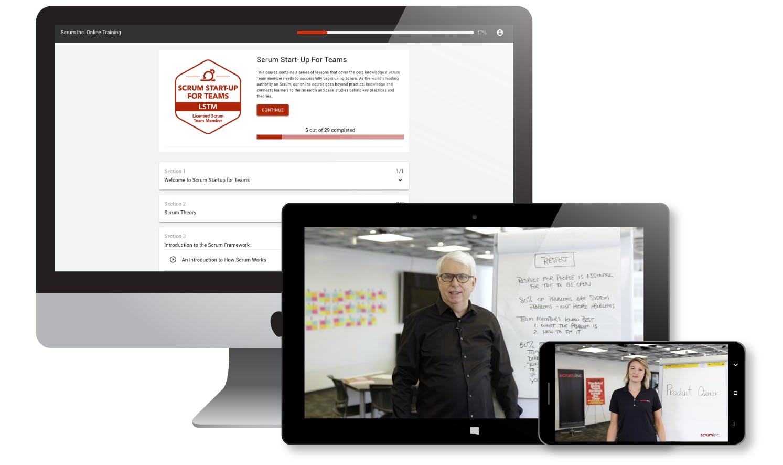 Online Scrum training by Scrum co-founder Jeff Sutherland