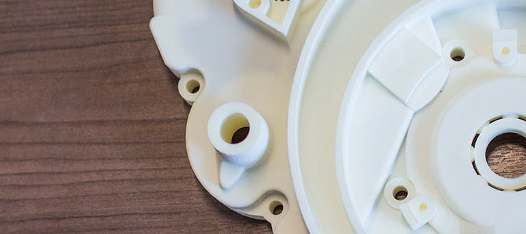 Plastic 3D Printed SLS Part