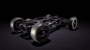 SLS carbon filled nylon