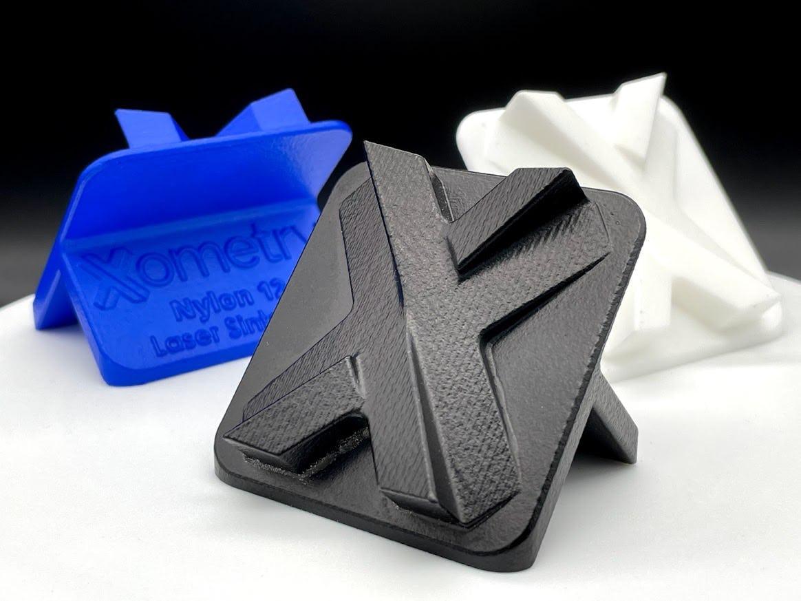 "3D printed Xometry ""X's"""