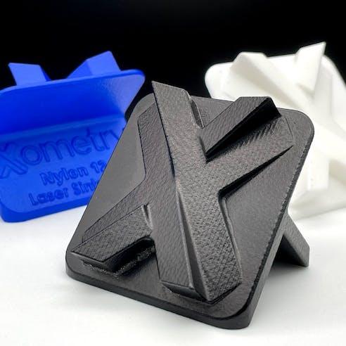 Vapor smoothing SLS nylon 3D prints