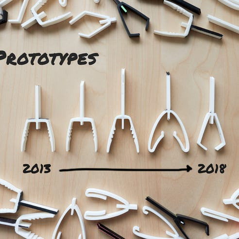 3D Printed Prototypes Tuning Forks