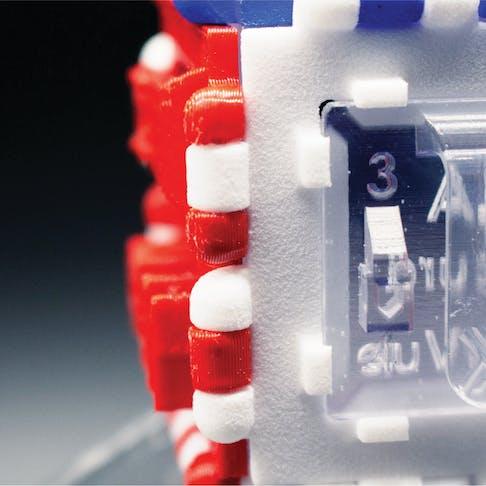 3D print sample cube