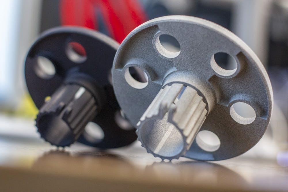 HP MJF 3D printed parts