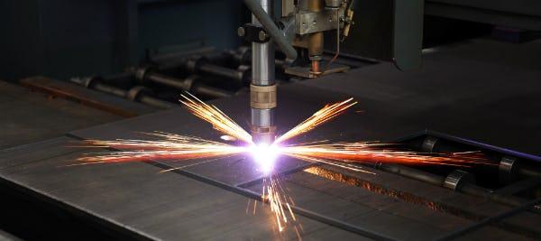 plasma cutting